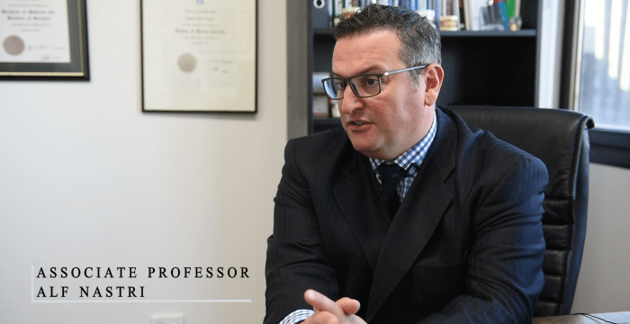 Associate Professor Alf Nastri