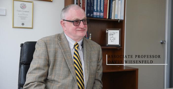 Associate Professor David Wiesenfeld